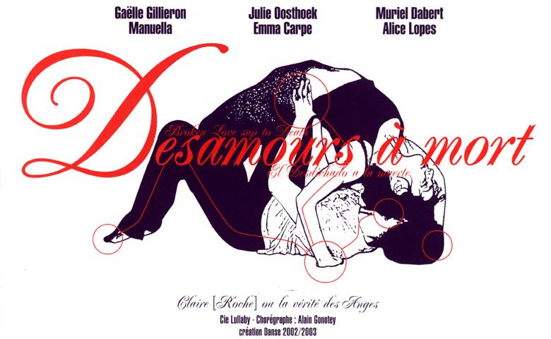 Illustration Couverture de désamour à mort