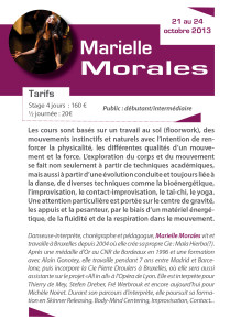 STAGE MARIELLE MORALES