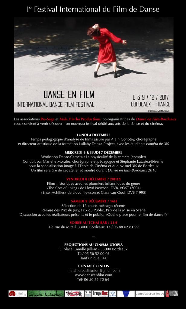 Newsletter Danse en film